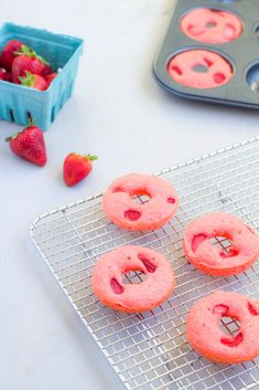 Simple Strawberry Shortcake Donuts | Thoughtfully Simple