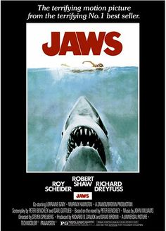 Jaws - Movie Poster by Firstposter.com Movie Posters Wall, via Flickr