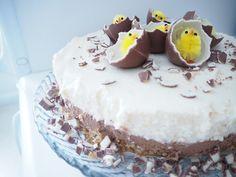 A'la Annn: Kinder Cake Vanilla Cake, Food And Drink, Desserts, Tailgate Desserts, Deserts, Dessert, Food Deserts