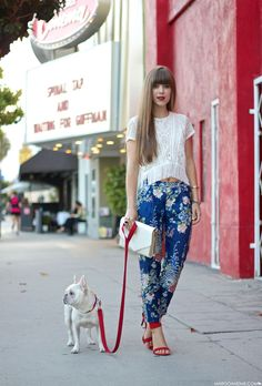Hollywood Treasures ( Lace Shirts & Blouses & Floral Pants )