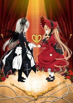 Rozen Maiden Zurückspulen - Shinku and Suigintô