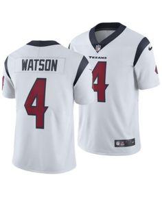 6adb67d7f31 Nike Men s DeShaun Watson Houston Texans Vapor Untouchable Limited Jersey -  White 3XL Deshaun Watson