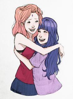 Sakura and Hinata Naruhina, Hinata Hyuga, Naruto Shippuden Anime, Anime Naruto, Manga Anime, Sasuke, Naruto Cute, Naruto Funny, Naruto Girls