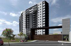 La arquitectura de la edificación de este proyecto sigue los valores de ALTERRA TOWERS, estos son la innovación, calidad y confort de los espacios. ¡Haz clic en la imagen para conocer más de este proyecto! #Arquitectura #MANUELTORRESDESIGN #Design