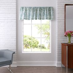 Shop for Laura Ashley Rowland Breeze Valance. Free Shipping on orders over $45 at Overstock.com - Your Online Home Decor Outlet Store! Get 5�0in rewards with Club O!