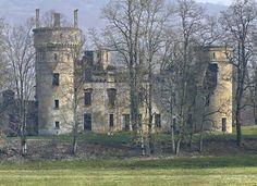 Château de Bohas - Revermont, Ain - ruins