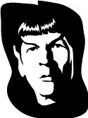 We're watching the search engine results that bring people to Pink Raygun - and we've seen a lot of people looking for Star Trek related pumpkin carving stencils. To kick things off, we've got carving templates for Kirk, Spock, Scotty, Bones, Uhura, Sulu and Chekov from Star Trek, The