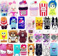 Cell Phone Cases - Cartoon Disney Silicone Soft Case Cover for Samsung Galaxy ACE - Welcome to the Cell Phone Cases Store, where you'll find great prices on a wide range of different cases for your cell phone (IPhone - Samsung) Disney Phone Cases, Cute Phone Cases, Iphone Phone Cases, Samsung Cases, Phone Covers, Coque Samsung Galaxy J5, Coque Iphone, Cartoon Disney, 3d Cartoon