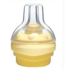 FINALLY! A bottle nipple for breastfed babies! It really makes baby work.