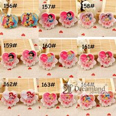 Find More Resin Crafts Information about 45pcs/lot 37MM*27MM fashion lovely pink color princess cartoon DIY accessories heart shape flat back planar resin 9 styles mixed,High Quality accessories beach,China resin polymer Suppliers, Cheap accessories brand from Dreamland Fashion Jewelry on Aliexpress.com