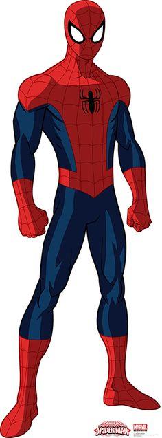 "Opentip.com: Advanced Graphics 1592 Spider-Man 01 - 72"" x 26"" - Cardboard Standup"