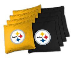 NFL Pittsburgh Steelers XL Bean Bag Set NFL Pittsburg Steelers