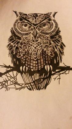 My screen printing design by Roisin Doherty Diy Design, Print Design, All Art, Owls, Screen Printing, Design Inspiration, Prints, Artwork, Ideas