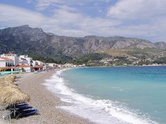 Beach in Kokkari, Samos
