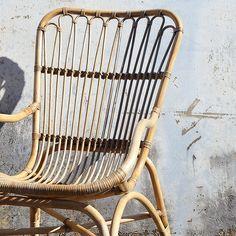 rattan-high-back-chair-shopceladon High Back Armchair, High Back Chairs, Outdoor Chairs, Outdoor Furniture, Outdoor Decor, Rattan, New Homes, Interior, House