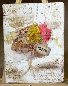 Altered Composition Book Journal by ArtfulXpressions, via Flickr