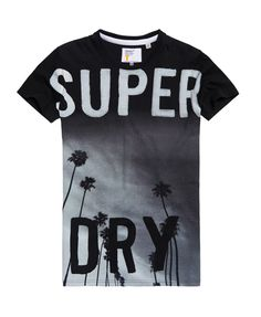 Superdry Camiseta larga Scratched Out