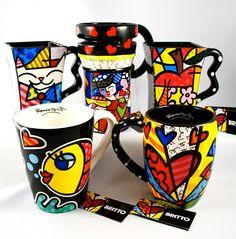 Romero Brito's mugs