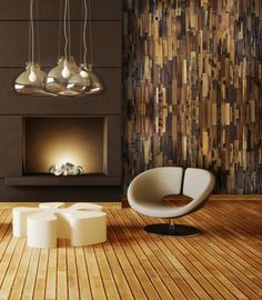 Reclaimed Wood Wall Panels: Considerations and design ideas for your next project. Reclaimed Wood Wall Panels, Wood Panel Walls, Accent Wall Panels, Brick Paneling, Wood Mosaic, Decorative Wall Panels, Teak Wood, Rustic Wood, Wood Interiors