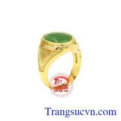 Nhẫn Nam Ngọc Cẩm Thạch - Nhẫn Nam Đẹp - TRANG SỨC NAM - Công Ty Trang Sức Em Và Tôi -Trangsucvn.com