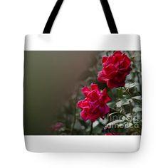 """Roses Tote Bag 18"""" x 18"""""""