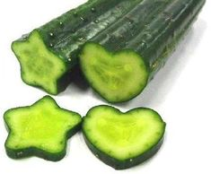 How to Grow Heart or Star Shaped Cucumbers