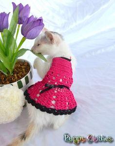 Vestido crochê PET
