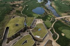 Steyn City Clubhouse -Arial View