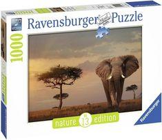 Puzzle Ravensburger 1000 Pezzi Elefante del Masai Mara Nature Edition Puzzle Shop, Ravensburger Puzzle, Puzzle 1000, Jigsaw Puzzles, Elephant, Nature, Animals, Ebay, Shopping