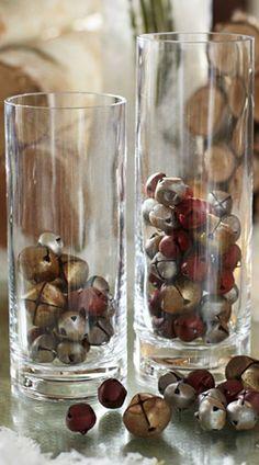 Antiqued Bells Vase Filler