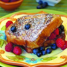 Cinnamon French Toast.  What a pretty picture.  Thank you, Culinary.net.