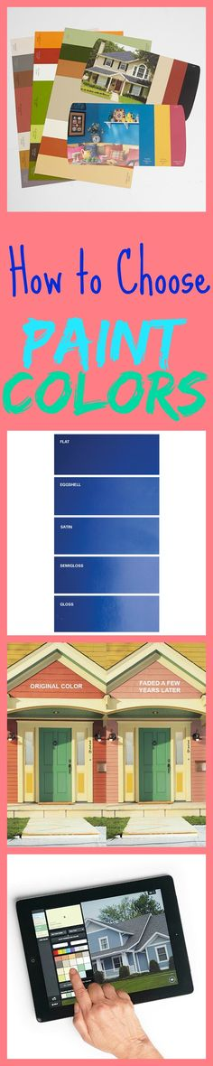 Top Tips for Choosing Paint Colors - How to choose the right colors inside and out