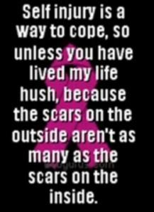Self injury scars dating site 5