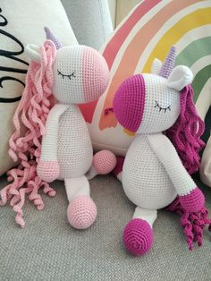 Unicorn crochet PATTERN, Amigurumi pattern, Crochet unicorn