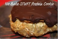 No-bake STUFT Protein Cookie.