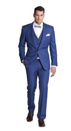 THE COBALT BLUE THREE PIECE SUIT - Joe Button