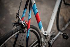 https://flic.kr/p/B2m42w | Cory's Road Bike | Martini paint scheme done by Bryan Myers, pics by Keith Trotta