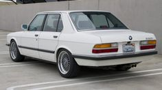 1988 BMW 535i For Sale Rear