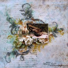Mary's Crafty Moments: ''Dream'' - DT Layout for Crafty Life