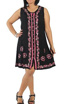 KayJayStyles Womens Batik Flower Tank Dress Black ** You can find more details by visiting the image link. Black Tank Dress, Batik Dress, Image Link, Flower, Casual, Clothes, Dresses, Women, Fashion