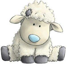 Cottonsocks the Sheep - Tatty Teddy Friends Tatty Teddy, Teddy Bear, Blue Nose Friends, Illustration Mignonne, Cute Illustration, Sheep Drawing, Lamb Drawing, Drawing Drawing, Baby Animals