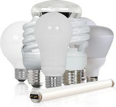 Tipos de bombillas de bajo consumo energético