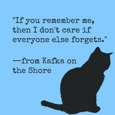 Here Kasturi tells us about her experiences as she discovers Haruki Murakami for the first time, starting with Kafka On The Shore. Literature Quotes, Author Quotes, Poetry Quotes, Words Quotes, Quotes Quotes, Quotes For Book Lovers, Book Quotes, Life Quotes, Quotes From Books