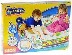 Tomy aquadoodle rainbow #super #colour deluxe water drawing mat - from 3+ #years,  View more on the LINK: http://www.zeppy.io/product/gb/2/172189461378/