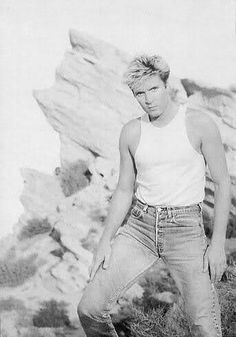 Simon and some well-fitting jeans.  Very nice (though the jeans are way too high on the waist by current standards!  they were just the thing 25 years ago, though.  Boy am I getting old.)