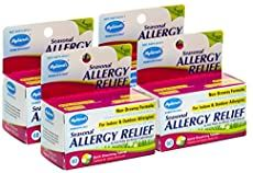 Hyland's Seasonal Allergy Relief, 60 Tablets Pack of 4 Rash On Dogs Belly, Yeast In Dogs, Fungal Infection Skin, Allergy Relief, Seasonal Allergies, The Cure, Packing, Seasons, Natural
