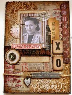 A Vintage Journey: Challenge 5 - Fond Memories - Astrid