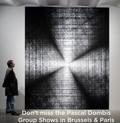 Artist Pascal Dombis is a part of new group show CONNECTED at the Centrale for Contemporary Art in Brussels (March - August Event Marketing, Brussels, Art World, Contemporary Art, Digital Art, Platform, Journal, Paris, Group