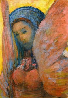 The Athenaeum - Sphinx (Odilon Redon - )