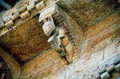 Más tamaños | 257 - Burro Tocando el Arpa - Tejaroz - Iglesia San Martín…